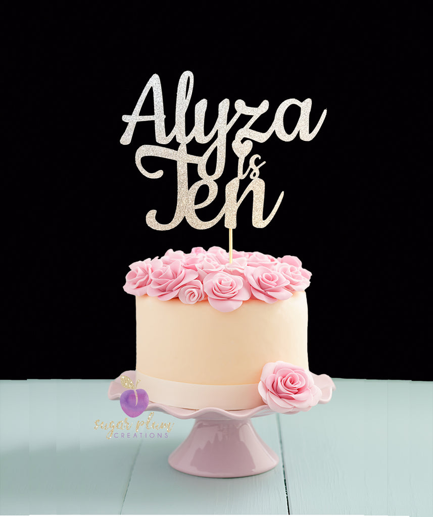 10th Birthday Cake Topper
