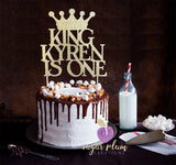 Birthday King Cake Topper
