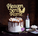 Heaven Sent Cake Topper