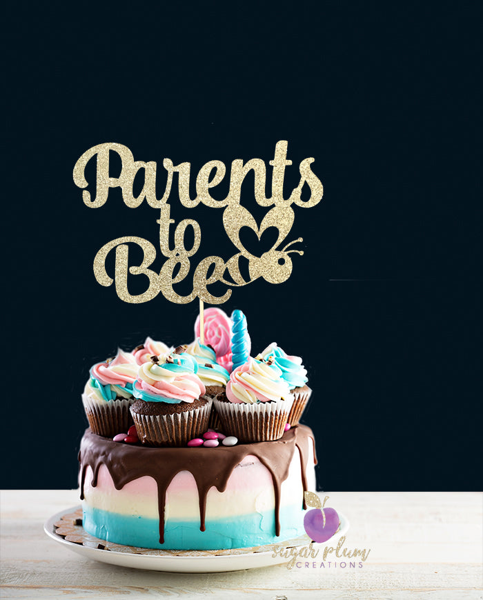 Parents to Be Cake Topper
