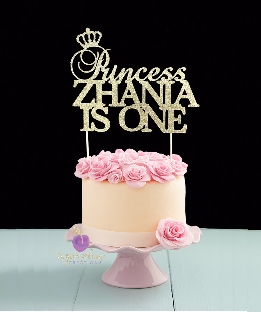 Birthday Princess Cake Topper