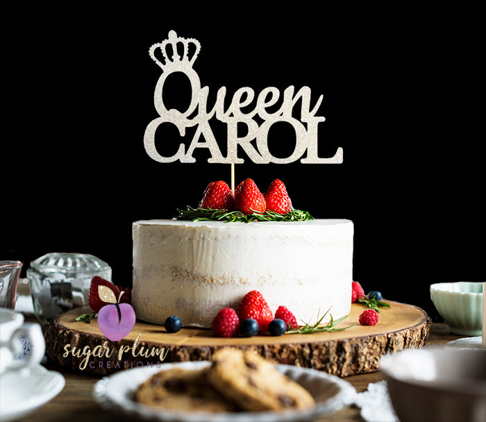 Queen Crown Cake Topper