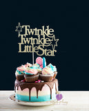 Twinkle Twinkle Little Star (big stars) Cake Topper