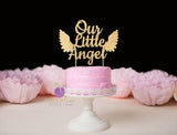 Our Little Angel Cake Topper