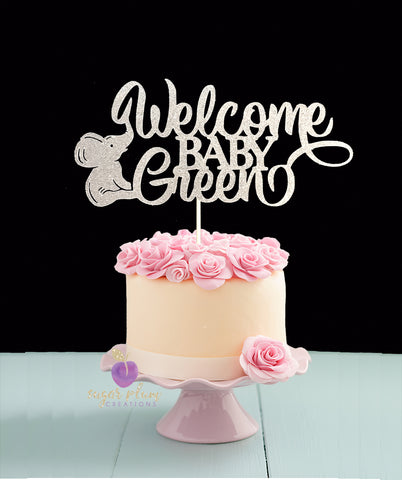 Baby It S Cold Outside Cake Topper
