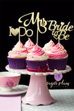 Bridal Set Cupcake Toppers