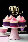 Fifty Cupcake Topper
