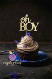 Oh BOY Cupcake Topper