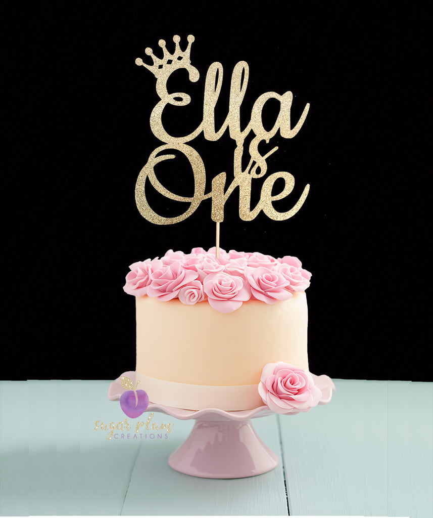 Awesome First Birthday Cake Topper Birthday Cards Printable Opercafe Filternl