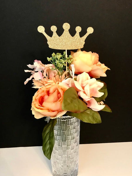 Prince or Princess Crown Centerpiece