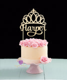 Princess Crown Cake Topper