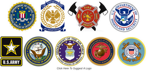 Military | Law | Firefighter Logos - We Thank You!