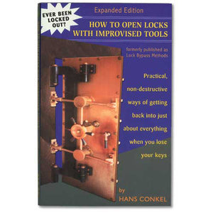 How To Open Locks  With Improvised Tools Book - 608717