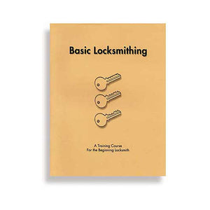 Basic Locksmithing Book - C-9142
