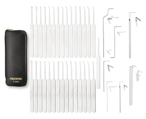 Thirty-Eight Piece Slim Line Lock Pick Set - C3010