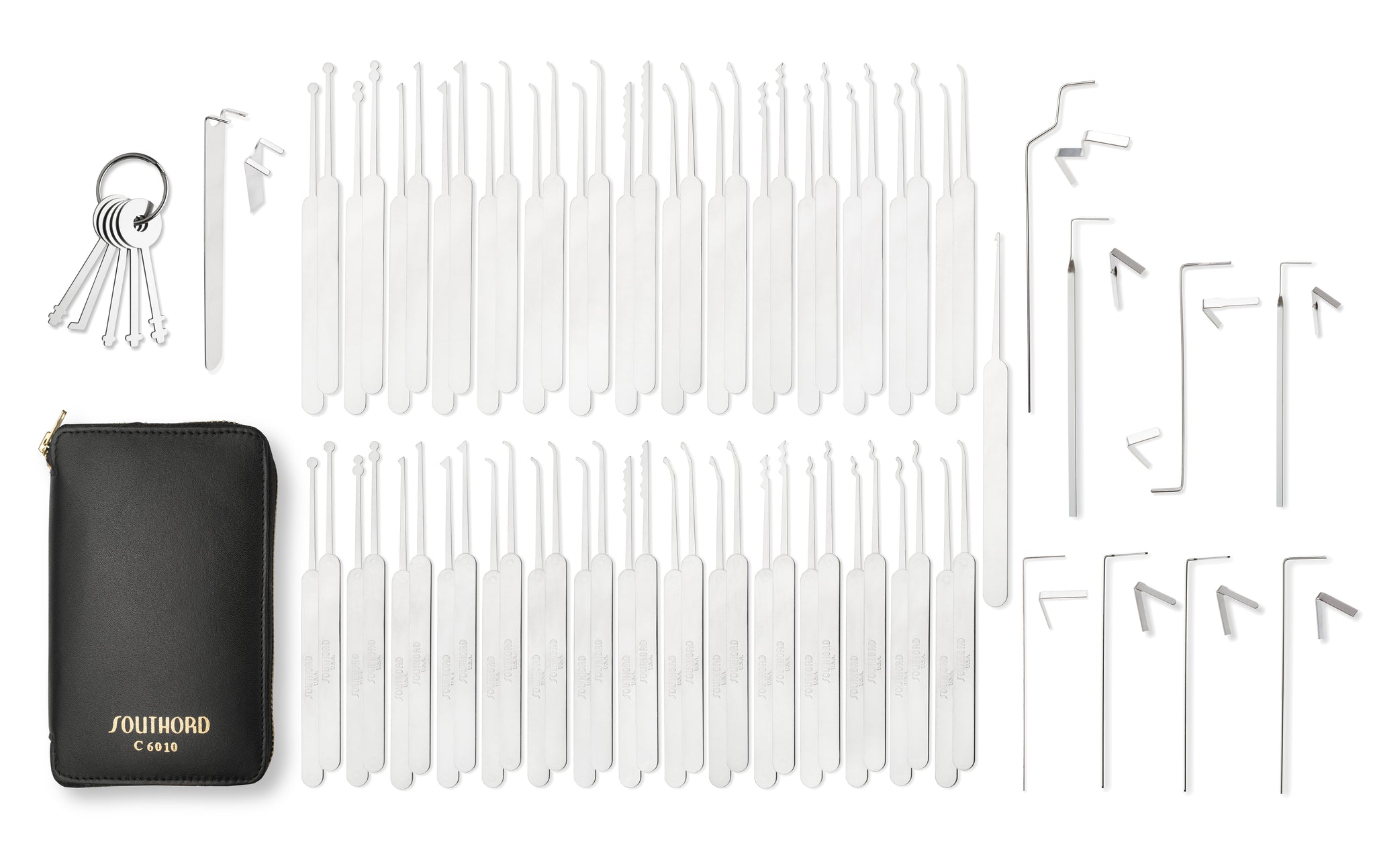 Seventy-Five Piece Slim Line Lock Pick Set - C6010