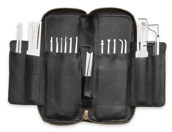 Leather Lock Pick Case for MPXS-32 Lock Pick Set - MPXS-32C