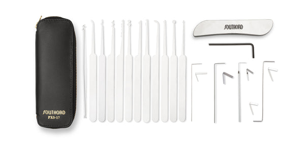 Seventeen Piece Lock Pick Set - PXS-17