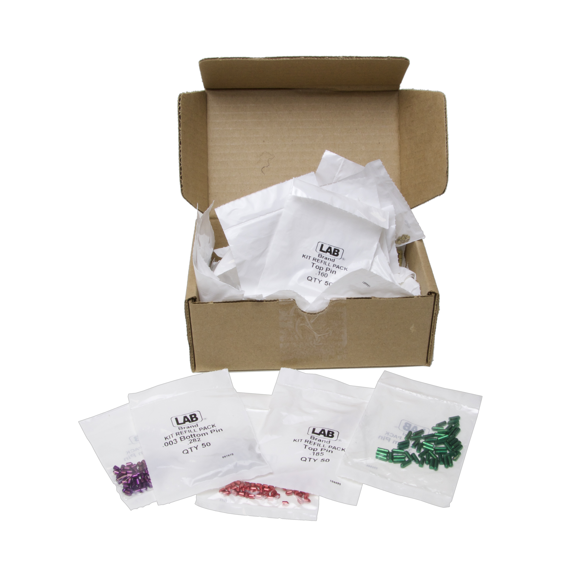 Refill Pack for LAB Universal Pin Kits (.003)