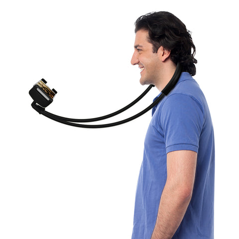 Lazy Neck Phone Holder, Great for Selfies!