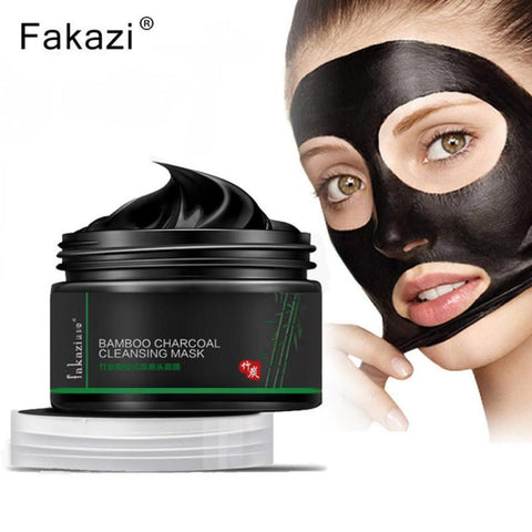 Bamboo Charcoal Cleansing Mask! Purifies Face and Cleans Pores!