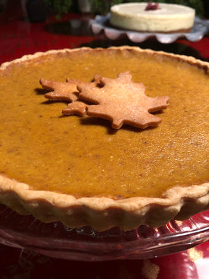 Pumpkin Tart 9'in