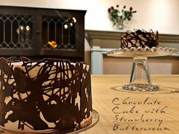 Chocolate Lace Cake