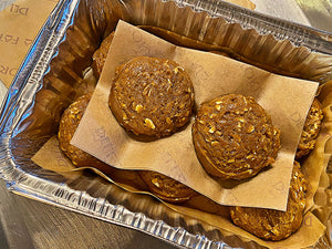 BAKE AT HOME GINGER MOLASSES COOKIES