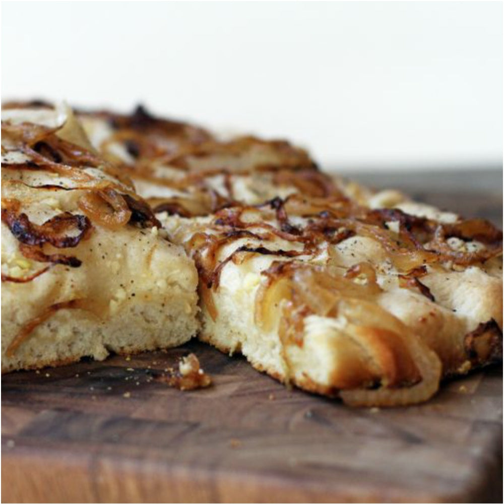 Caramelized Onion Focaccia