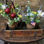 Patriotic Posies with Dovetailed Box Americana Gathering