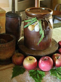 Apple Butter Crock With Lid Dried Vegetables