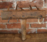 Early Primitive Apple Rake RARE