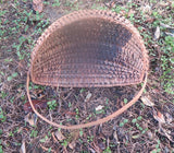 Antique Wall Half Basket Gathering
