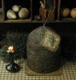 Primitive Bee Skep Artisan Made