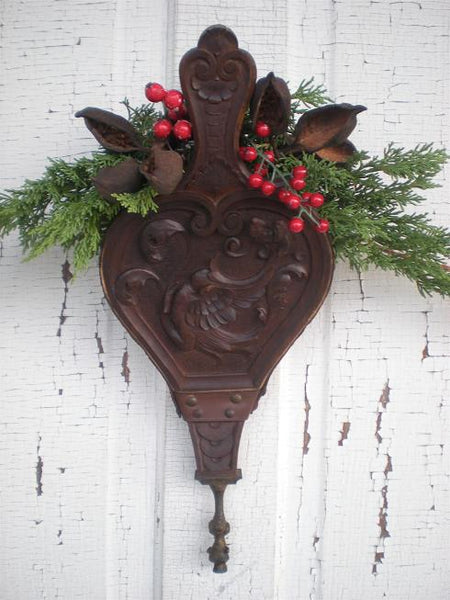 Antique Black Forest Style Bellows