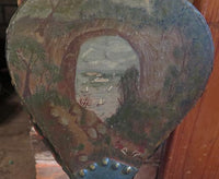 Mid 19th Century Folk Art Bellows Hand Painted