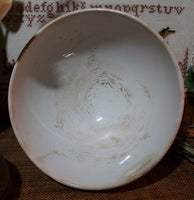 Serving Bowl Petrus Maastrict Stick Spatter Peasant Ware