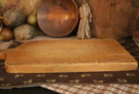 Birds Eye Maple Breadboard Wire Basket Kitchen Gathering
