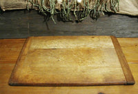 Antique Primitive Breadboard with Rolling Pin