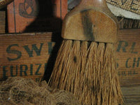 Primitive Halloween Cheesebox Whisk Broom 1911 Bone Chilling Fertilizer Booklet Pumpkin Gathering
