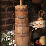Butter Churn Great Slender Form Original Surface