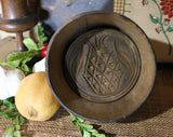 Butter Mold Antique Pineapple and Leaf Design Beautiful