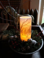 "Winter Sheep Gathering with ""Hope Candle"" Lights Up with Story"