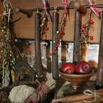 Colonial Style Hanging Candles on Rod Great Early Look