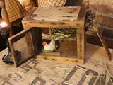 Primitive Chicken Coop Old Hen Marked Germany Nesting Box Gathering