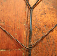 19th Century Tin Dry Measure Set and Heart Shaped Corn Dryer Neat