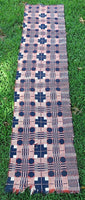 Antique Coverlet Piece Strong Color