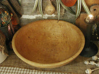 Antique Birds Eye Maple Dough Bowl Gorgeous Color