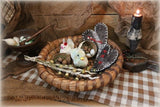 Pennsylvania Rye Easter Basket Vintage Chicks and Hearts
