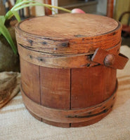 Antique Firkin Warm Patina